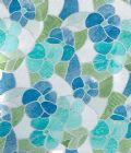 BLUE GREEN AQUA PASTEL STAINED GLASS STICKY BACK PLASTIC VINYL FABLON 45CM WIDE